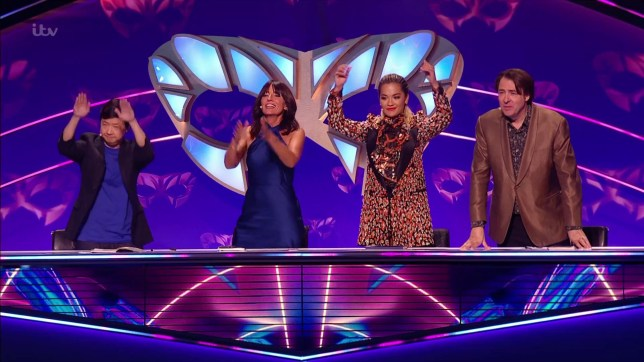Teddy Sheringham revealed as the Tree in Masked Singer (Picture: ITV)