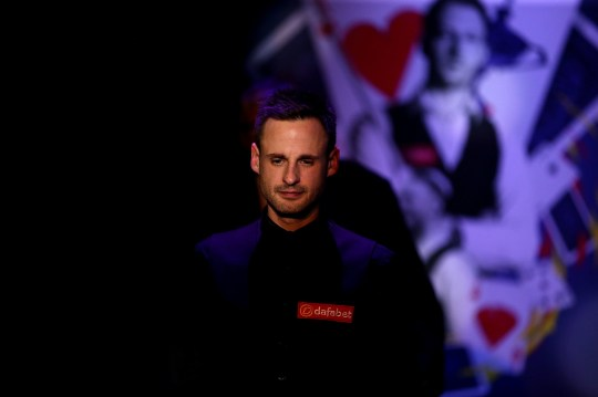 David Gilbert during day seven of the 2020 Dafabet Masters at Alexandra Palace, London. PA Photo. Picture date: Saturday January 18, 2020. See PA story SNOOKER Masters. Photo credit should read: Steven Paston/PA Wire