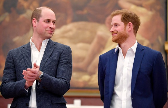 Harry and William heal rift in secret talks before move to Canada