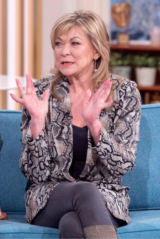 Claire King 'This Morning' TV show Emmerdale