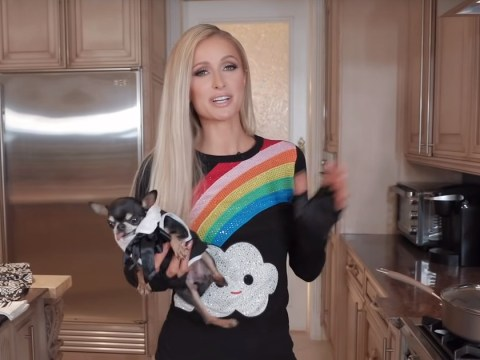 Paris Hilton moans about grating cheese in new YouTube cooking series