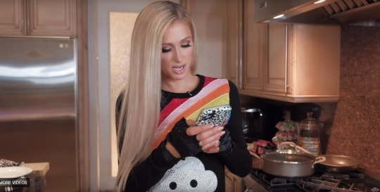 Paris Hilton hosts Cooking with Paris