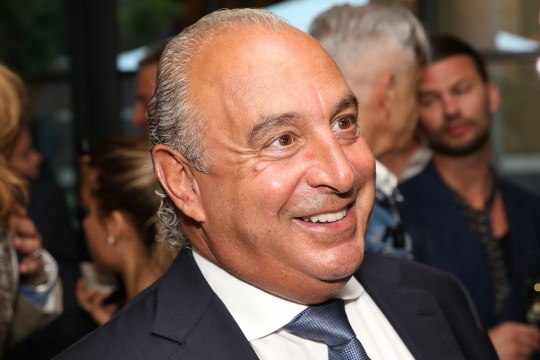 LONDON, UNITED KINGDOM - JUNE 17: Sir Philip Green attends the GQ and LC:M Party during the London Collections: Men SS15 on June 17, 2014 in London, England. (Photo by Darren Gerrish/WireImage)