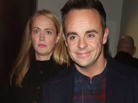 Ant McPartlin joined by girlfriend Anne-Marie Corbett as they leave Britain's Got Talent filming