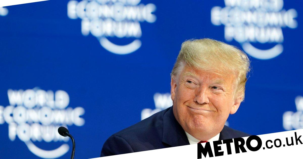 Donald Trump takes aim at Greta Thunberg in his Davos speech - metro