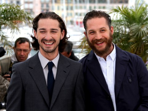Shia LaBeouf jokes how Tom Hardy dominates sets: 'He pees in the corners'