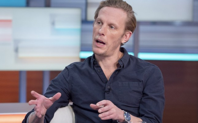 Editorial use only Mandatory Credit: Photo by Ken McKay/ITV/REX (10533327q) Laurence Fox 'Good Morning Britain' TV show, London, UK - 22 Jan 2020