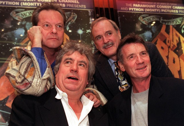 Monty Python's John Cleese, Sir Michael Palin and Terry Gilliam bid farewell to Terry Jones following death aged 77