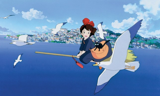 Still from Kiki's Delivery Service