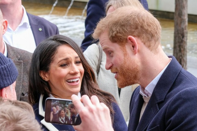 BGUK_1846489 - Birmingham, UNITED KINGDOM - Historical photos of Prince Harry and Meghan Markle visiting Birmingham Pictured: Prince Harry, Meghan Markle BACKGRID UK 8 MARCH 2018 BYLINE MUST READ: Squirrel / BACKGRID UK: +44 208 344 2007 / uksales@backgrid.com USA: +1 310 798 9111 / usasales@backgrid.com *UK Clients - Pictures Containing Children Please Pixelate Face Prior To Publication*