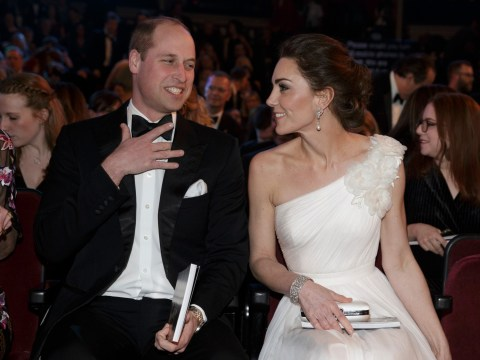 Prince William and Kate Middleton confirmed to attend the Bafta awards once again