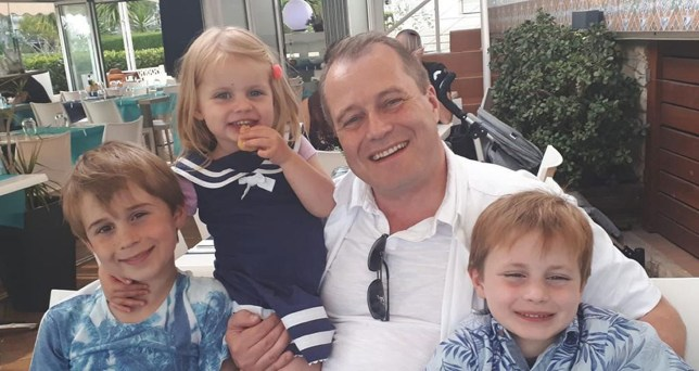 Undated family handout photo issued by Garda of Conor McGinley, 9, Darragh McGinley, 7, and Carla McGinley, 3, with their father Andrew McGinley. The three children were found dead in a house in Parson's Court, in the village of Newcastle, which is south-west of Dublin city, on Friday night. PA Photo. Issue date: Saturday January 25, 2020. See PA story IRISH Children. Photo credit should read: Family Handout/PA Wire NOTE TO EDITORS: This handout photo may only be used in for editorial reporting purposes for the contemporaneous illustration of events, things or the people in the image or facts mentioned in the caption. Reuse of the picture may require further permission from the copyright holder.