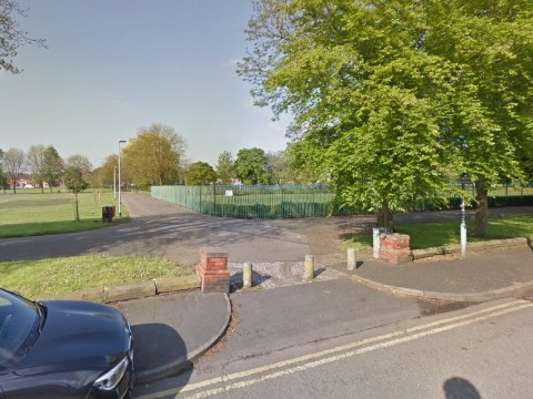Children's playground shut down after dead body discovered