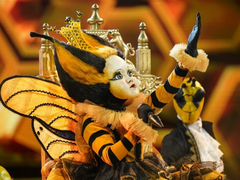 The Masked Singer's Queen Bee admits she's 'dangerously close' to being guessed by judges ahead of next week's final