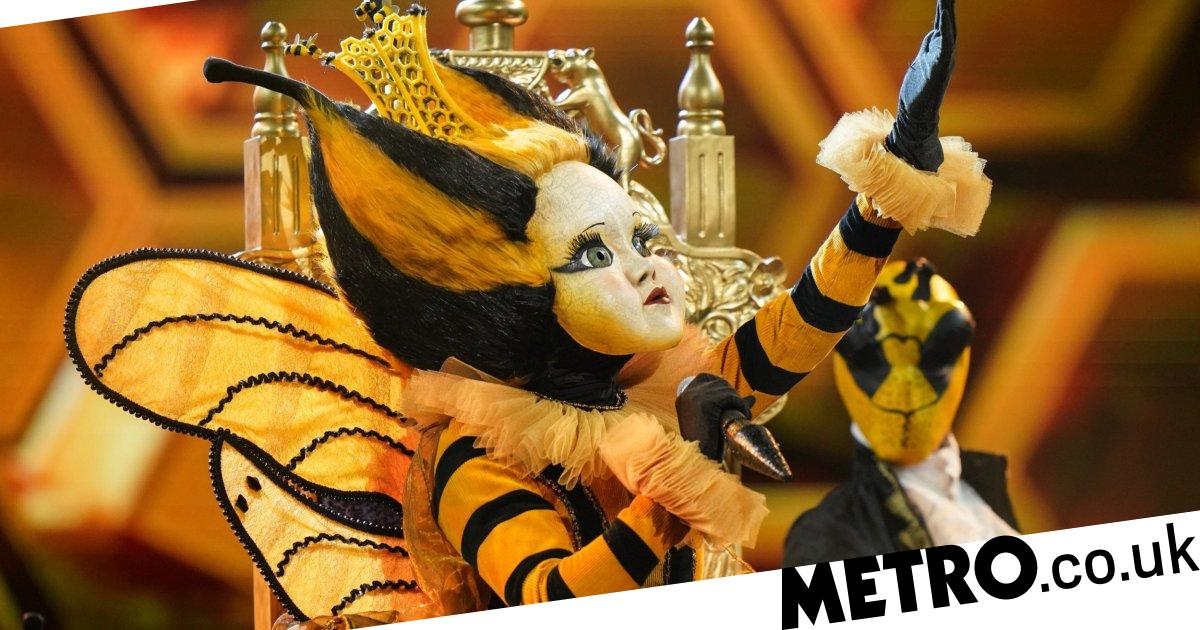 The Masked Singer's Queen Bee admits she's 'dangerously close' to being guessed