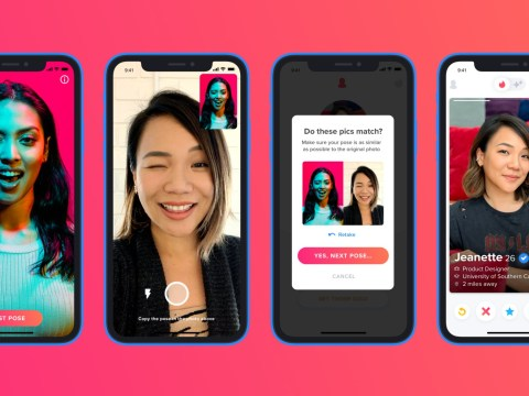 Tinder is now giving out blue ticks to verify people who aren't catfishing
