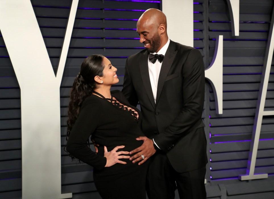 Vanessa Laine and Kobe Bryant