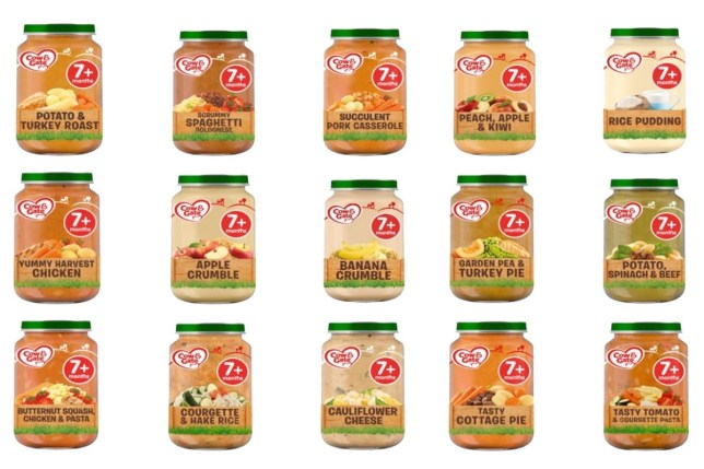 (Picture: Cow & Gate/FSA) Cow & Gate and Tesco are voluntarily recalling 15 varieties of 7+ month Cow & Gate baby food jars (200g) sold by Tesco stores in the UK, as a precautionary measure following concerns that some jars may have been tampered with. The recall only involves these varieties sold in Tesco stores in the UK. No other Cow & Gate, Tesco or other branded baby products are affected.