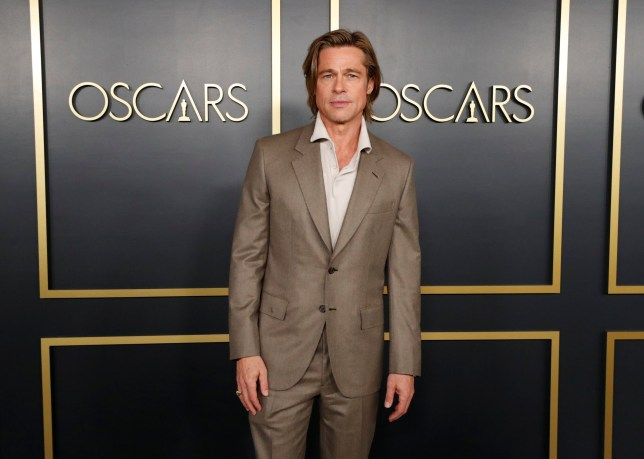 Brad Pitt attends the 92nd Academy Awards Nominees Luncheon in Los Angeles, California, U.S., January 27, 2020. REUTERS/Mario Anzuoni
