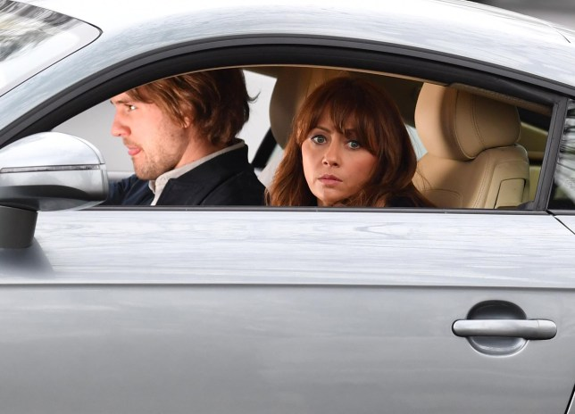 Pics Paul Cousans/Zenpix Ltd.. Corrie....What now for Maria? Heartbroken and tearful Maria(Samia Long Chambon) takes a car ride with Ali Neeson(James Burrows). Poor Maria has lost her baby and her way in life. Her baby died of a miscarriage brought on by Measles which she seemed to have contacted from Daniel Osbournes? son ?Bertie?. But what now for Maria..Its seems all is not well with Gary. Confused Maria hears Ali he still loves her but an argument ensues and Maria gets out of the car and walks off with her pointing the finger at the doc. Could this spell the end of Gary or Ali? ?200 per set split with MCPIX LTD ?100 each