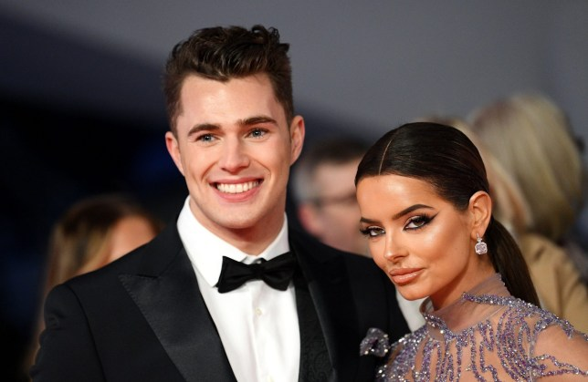 NTAs 2020: Maura Higgins looks unreal in sheer gown while cosying up to Curtis Pritchard