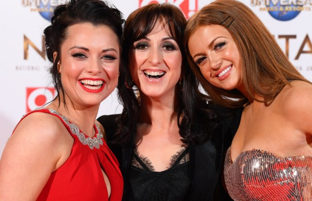 Mandatory Credit: Photo by David Fisher/REX (10537864cg) Shona McGarty, Natalie Cassidy and Maisie Smith 25th National Television Awards, Arrivals, O2, London, UK - 28 Jan 2020