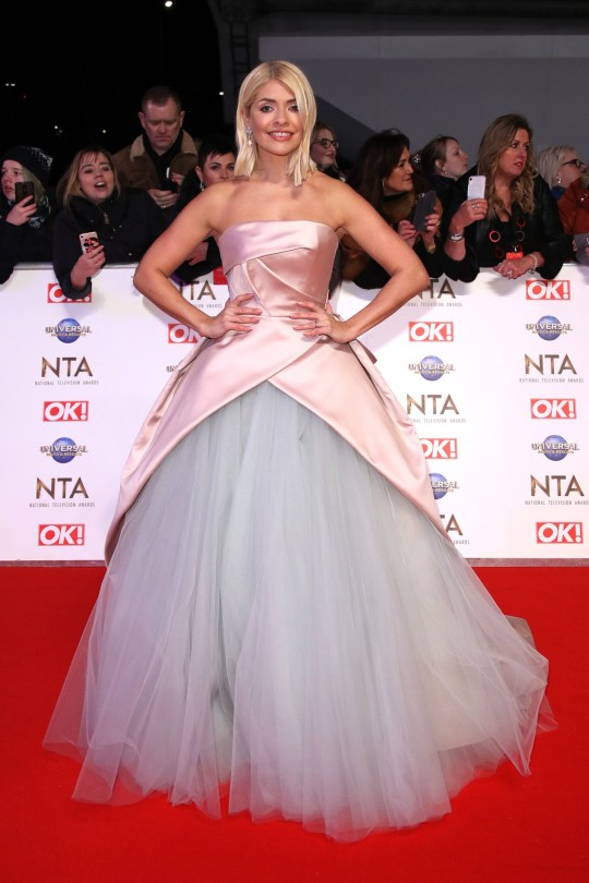 Holly Willoughby NTAs