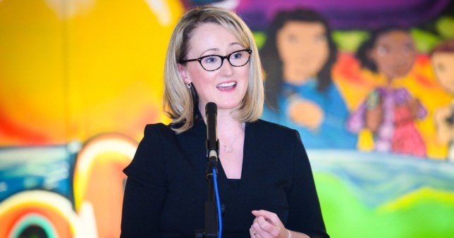 Mandatory Credit: Photo by Roger Askew/REX (10540912d) Rebecca Long - Bailey MP speaking at hustings for Labour Leadership at Blackbird Leys Community Centre Oxford Rebecca Long-Bailey Labour Party Leadership campaign speech, Oxfordshire, UK - 27 Jan 2020