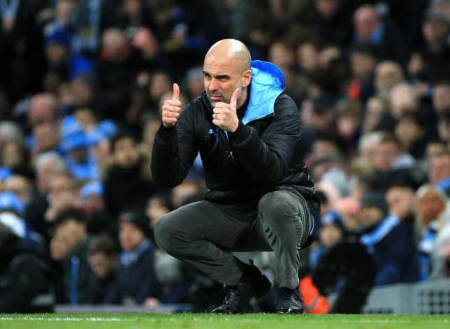 Pep Guardiola was impressed with Manchester United's performance against Man City