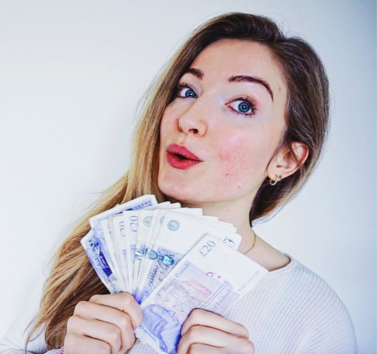 Rachael Zoey, 25, from London, who has managed to save $14K on a £20K salary in just one year