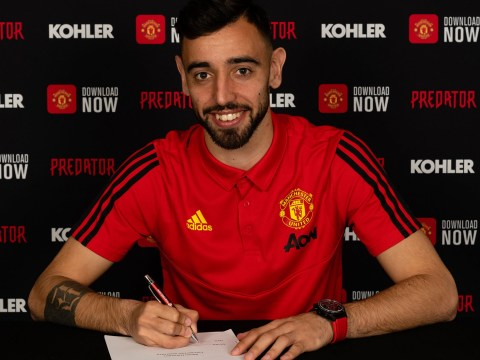 Bruno Fernandes completes transfer to Manchester United from Sporting Lisbon