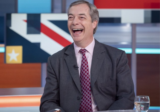 Nigel Farage 'Good Morning Britain' TV show, London, UK - 31 Jan 2020