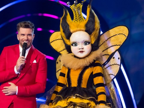 The Masked Singer UK: Joel Dommett fears he'll be axed by letting slip who Queen Bee is
