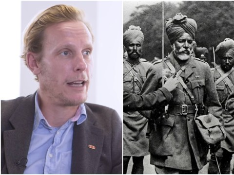Laurence Fox gets 'history lesson' on Sikh troops who died for Britain in WWI