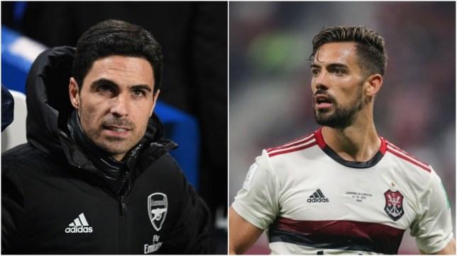 New signing Pablo Mari has heaped praise on Arsenal manager Mikel Arteta