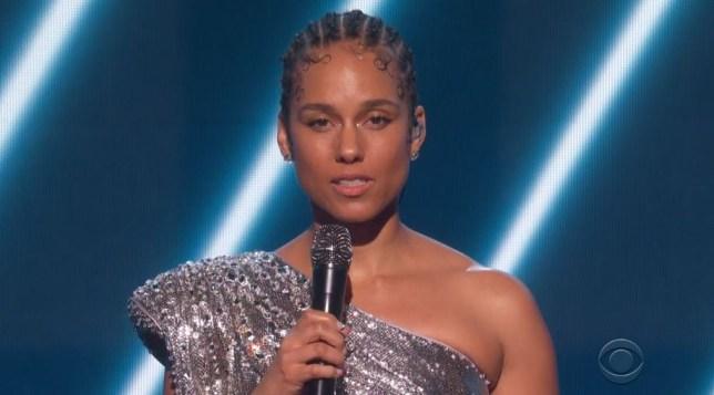 Alicia Keys sings emotional tribute to Kobe Bryant at Grammys with Boyz II Men as he dies aged 41