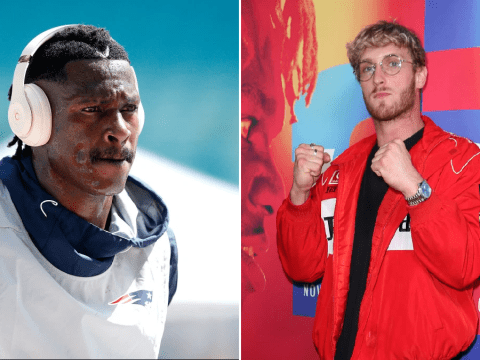 Logan Paul squares up to footballer Antonio Brown after KSI loss: 'I'd drop you faster than the Patriots'