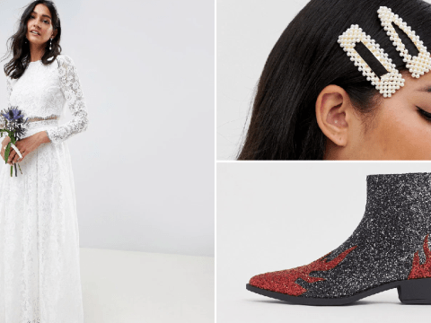 ASOS reveals their top trends – from a £120 wedding dress to glitter boots