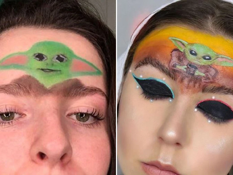 Put Baby Yoda on your brows, you cowards