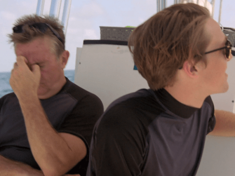 Bradley Walsh and Son: Breaking Dad leaves viewers in stitches after they mistake a tuna fish for a shark