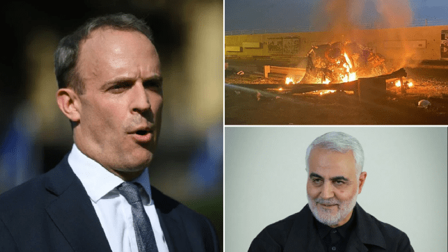 Britain calls for calm after US assassinates Iran's top general in airstrike