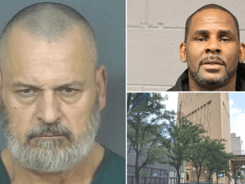 Homphobe killer who severed gay man's spine has his throat cut in R Kelly's prison