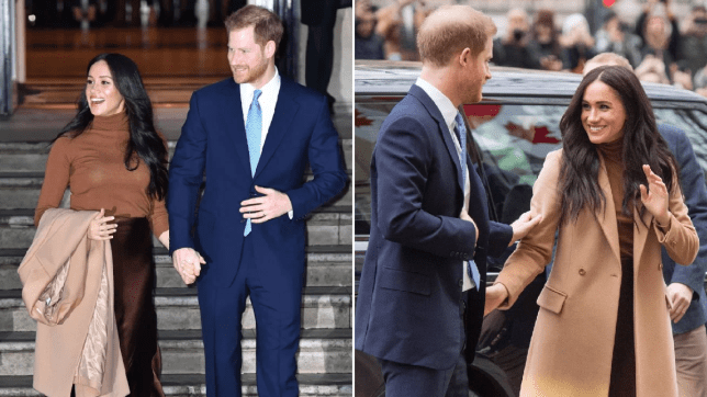 Duchess Meghan At Christmas 2020 Harry and Meghan thank Canada for six week Christmas break with