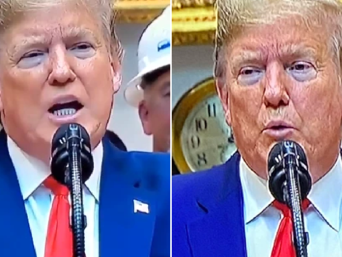 Donald Trump's huge eye bags, sniffing and slurring spark yet more health fears