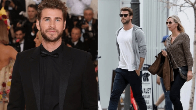 Liam Hemsworth joins mum for lunch after PDA session with girlfriend Gabriella Brooks