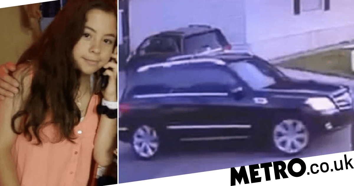 Girl, 13, vanishes on way to school after she was seen getting into SUV
