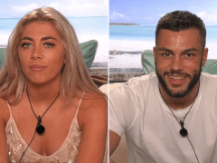 Love Island's Paige Turley and Finley Tapp are first couple in hideaway