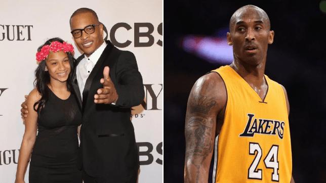 T.I. and Kobe Bryant