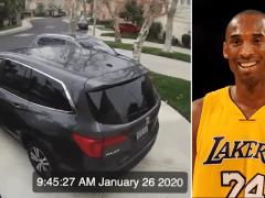 Doorbell cam captures sound of Kobe Bryant's doomed helicopter exploding