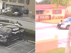 Horrific final moments of woman who was killed while clinging to car